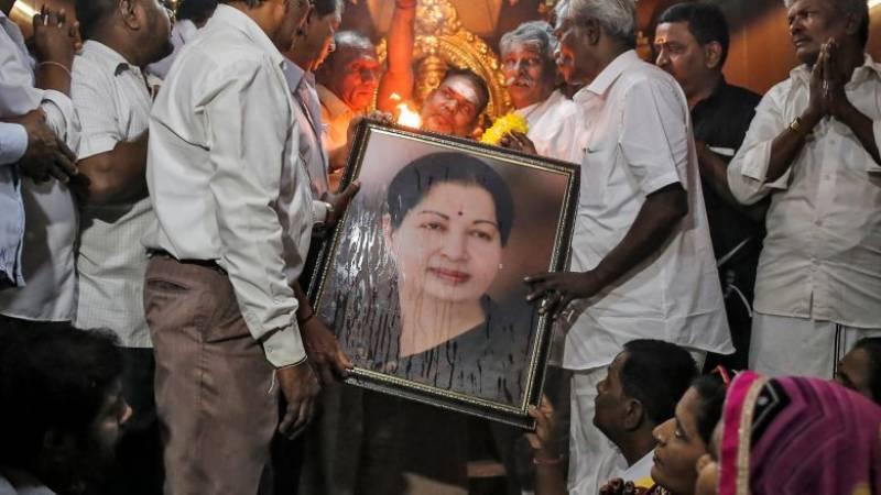 Tamil Nadu CM Jayalalithaa passes away
