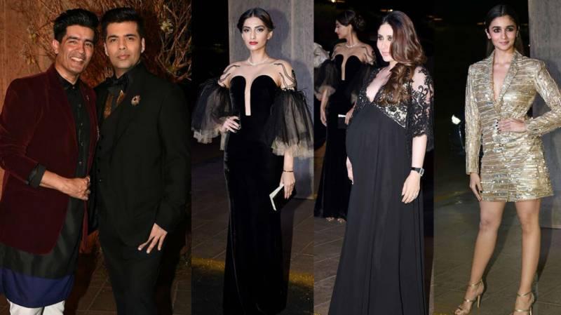 VIDEO: Bollywood stars spotted at designer Manish Malhotra's birthday
