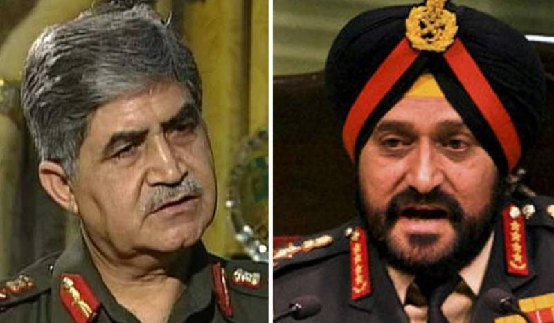 India should plan offensive, covert operation in Pakistan: former army chiefs