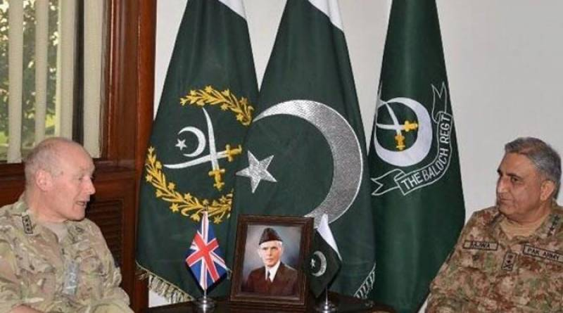 Lt. General Lorimer calls on COAS to discuss regional security