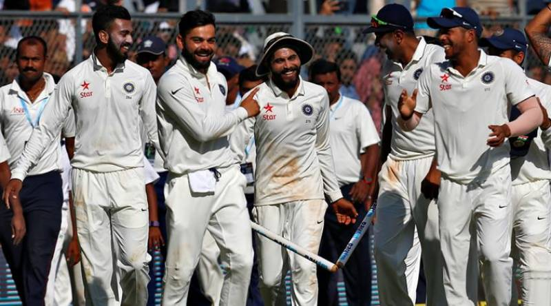 India defeat England by an innings and 36 runs to clinch series