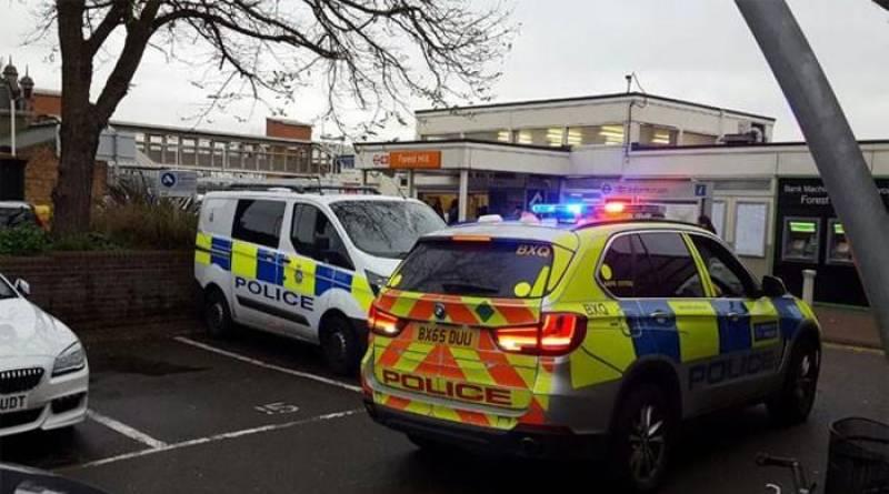 A Muslim stabbed in London