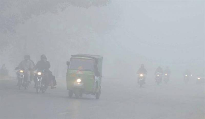 Dense fog causes closure of Lahore airport, motorway