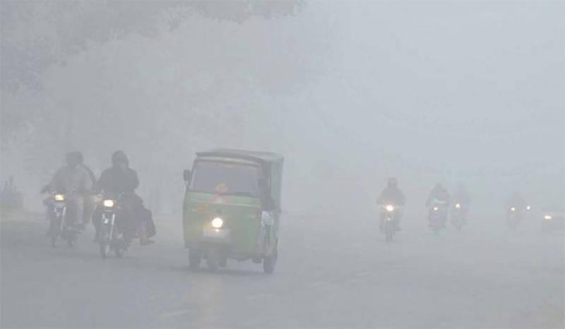 Dense fog causes closure of Lahore airport, motorway