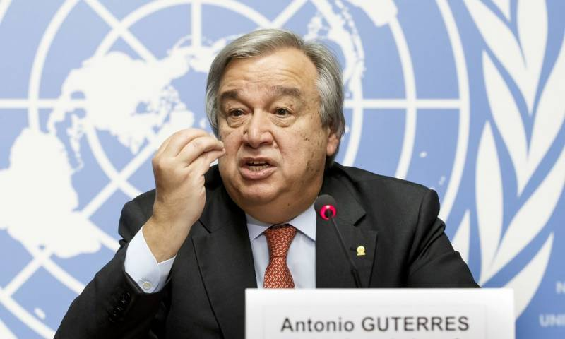 Former Portuguese PM Antonio Guterres sworn in as UN secretary general