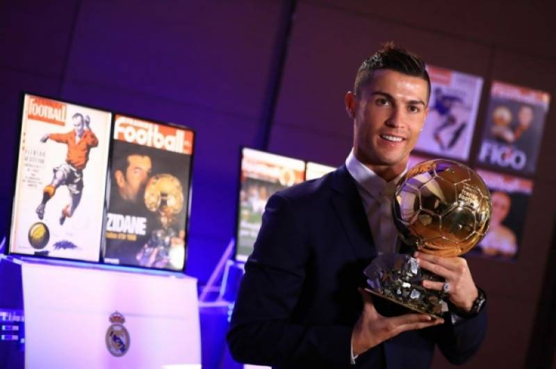 Ronaldo entitles as best footballer on the planet