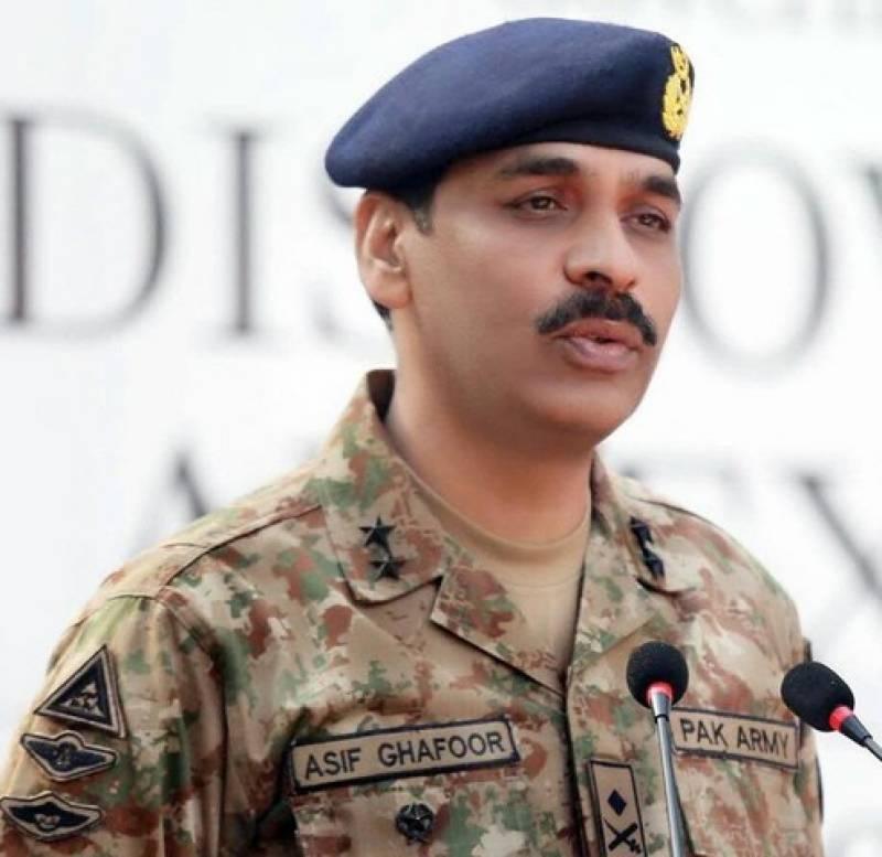 Major-General Asif Ghafoor appointed as ISPR DG