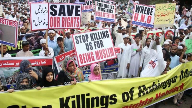 Myanmar's Rohingya insurgency has links to Saudi Arabia, Pakistan: report