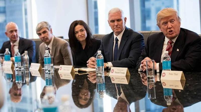 Twitter too tiny to be included in tech meeting: Trump