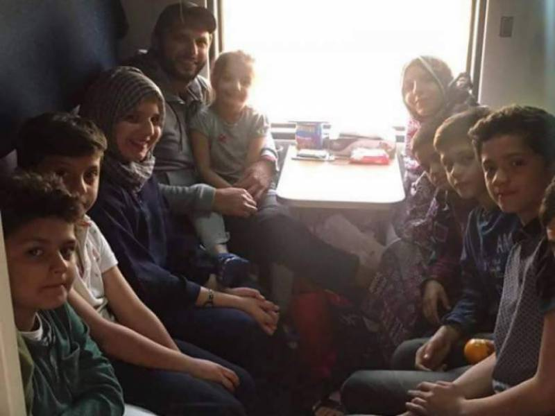 Experience of travelling by train after 24-year extremely impressed: Shahid Afridi