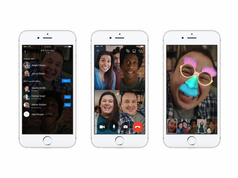 Facebook adds group video calling feature to Messenger