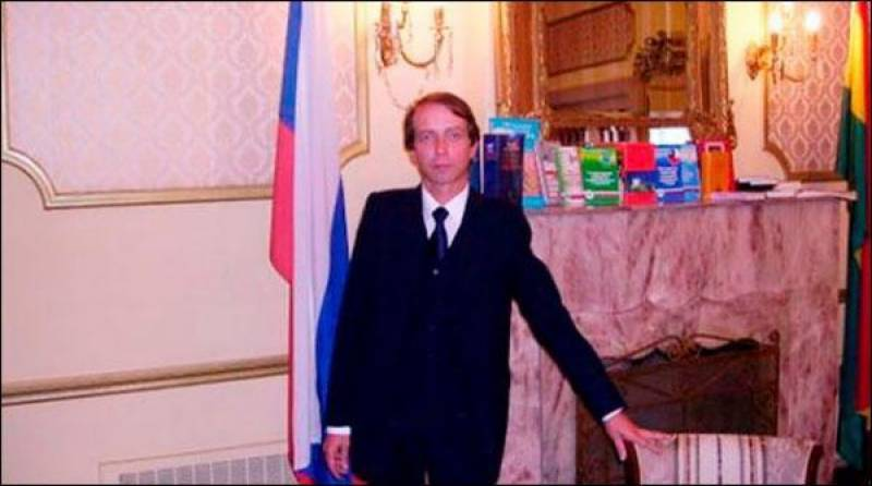 Another Russian diplomat found dead