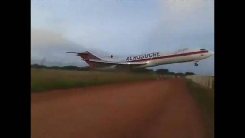 Colombia: Cargo plane crashes after 3 minutes of take off, kills 5 crew