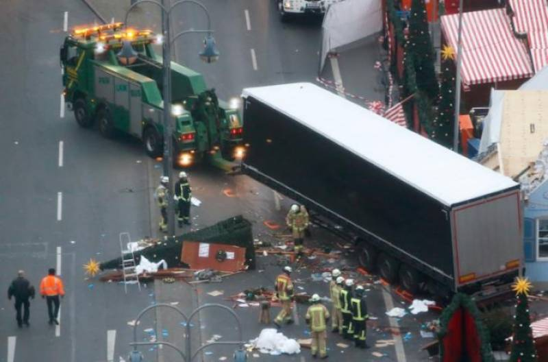 Daesh claims Berlin truck rampage, Pakistani suspect released