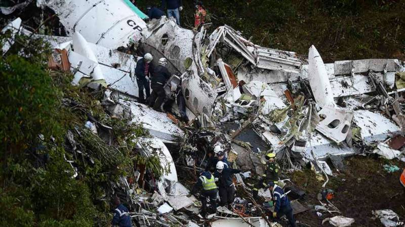 'Pilot, airline responsible for plane crash that killed soccer team'