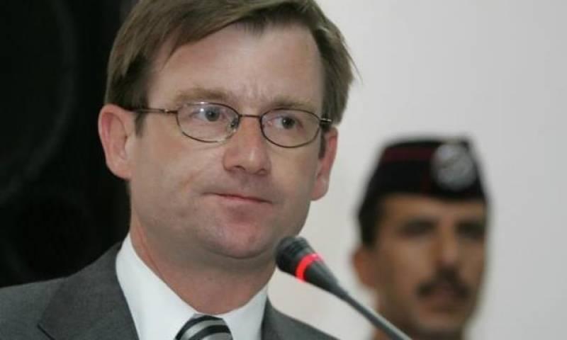 David Hale seeks trade ties with Pakistan
