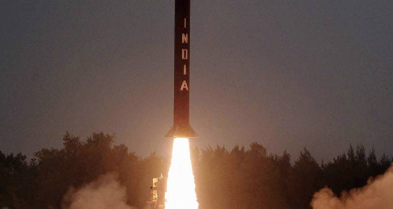 Indian missile test attempt fails for the 4th time