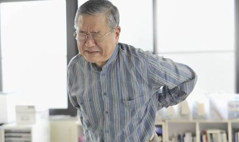 Backache in aged people may increase risk of falling
