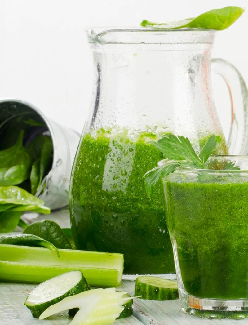 Home-made juice may help to loose weight