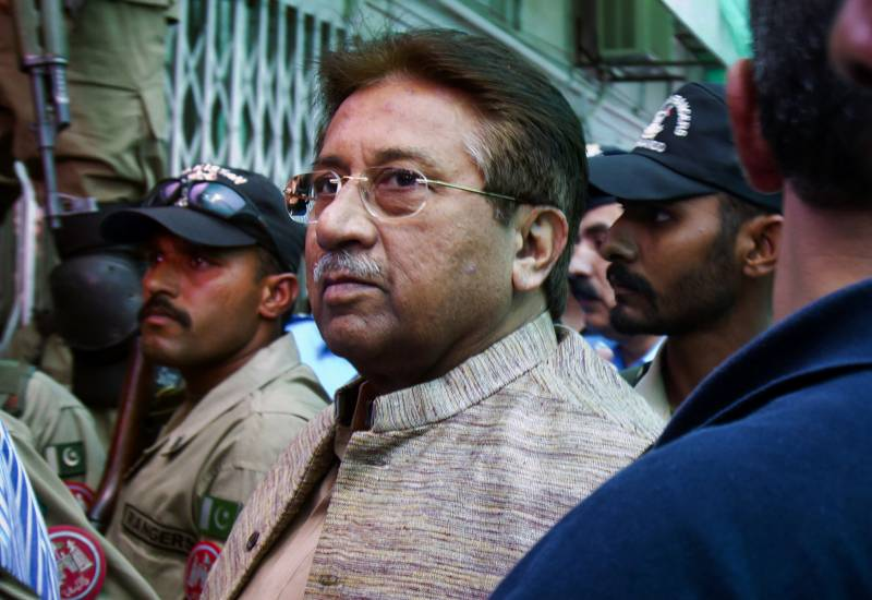 Never sought Raheel Sharif's help to leave Pakistan: Musharraf