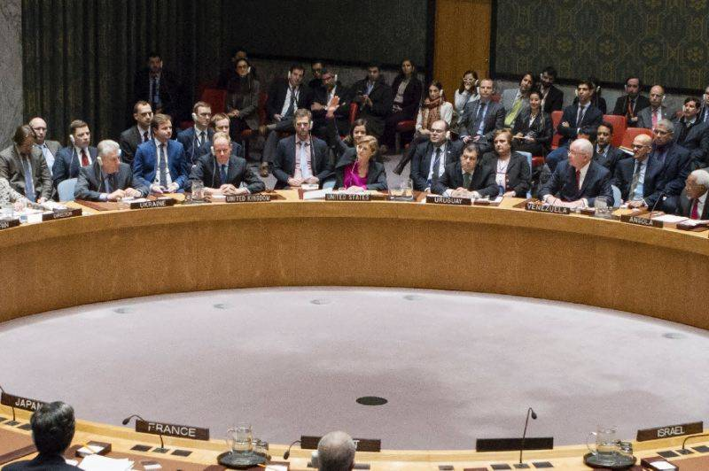 US behind UN 'gang up' on settlement vote: Israel