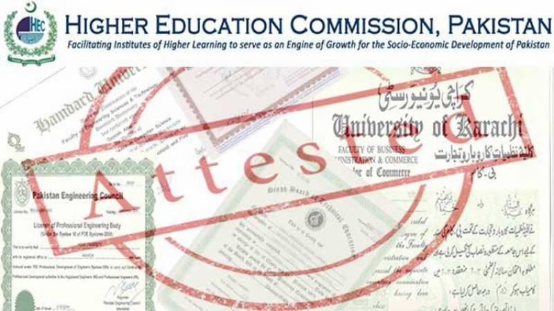 HEC To introduce Online Degree Attestation Services