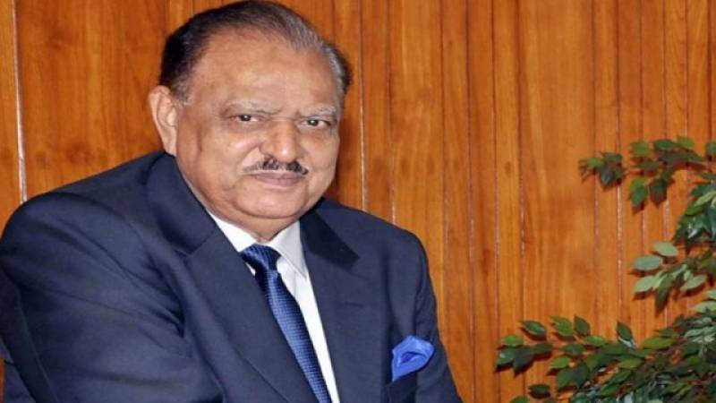 ISI DG Naveed Mukhtar meets President Mamnoon Hussain