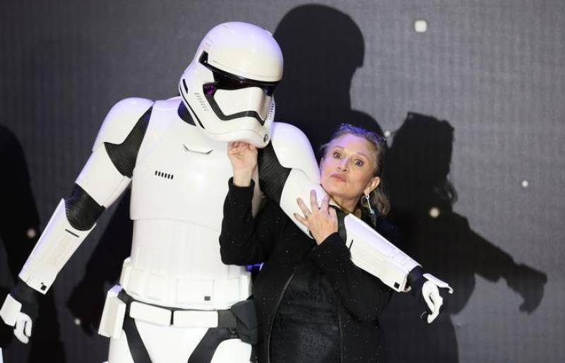 """Star Wars"" actor Carrie Fisher dies at 60"