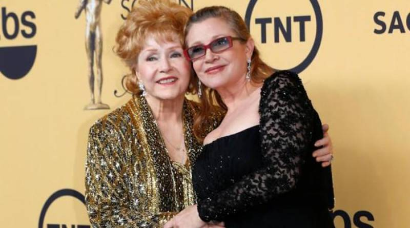 Carrie Fisher's mother Debbie Reynolds dies at 84