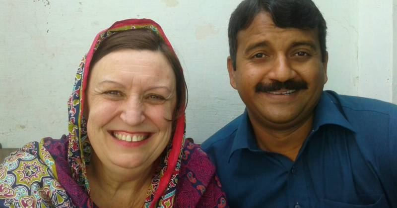 55-year-old French woman reaches Pakistan to find her love