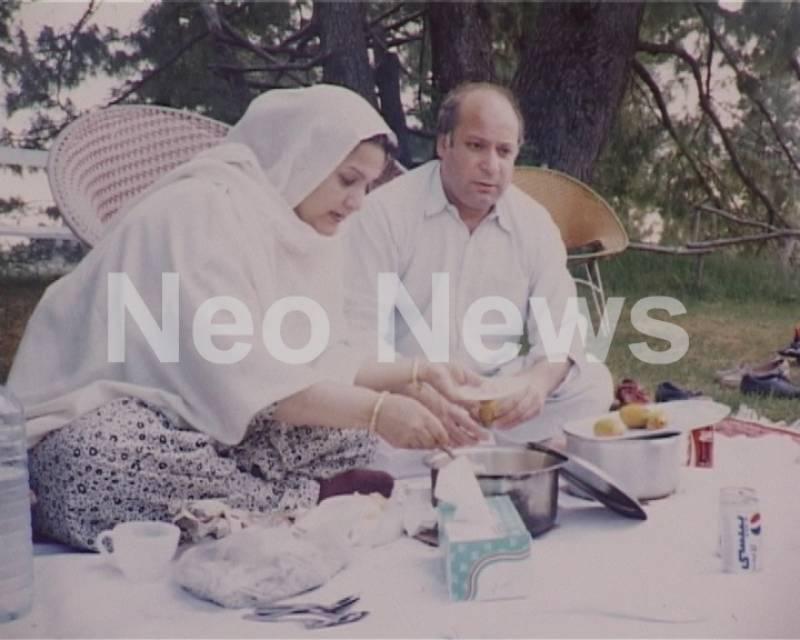Rare pics of PM Nawaz