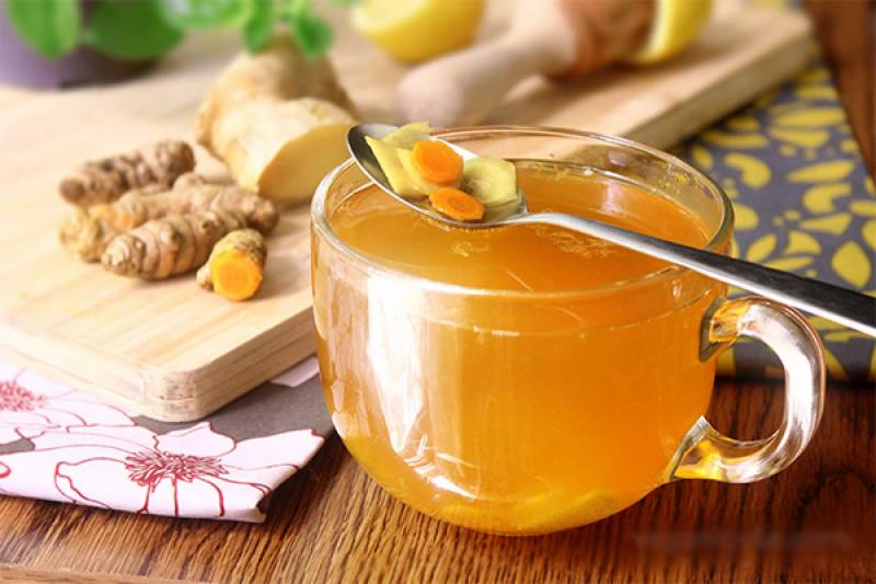 Turmeric tea can soothe sore throat, runny nose