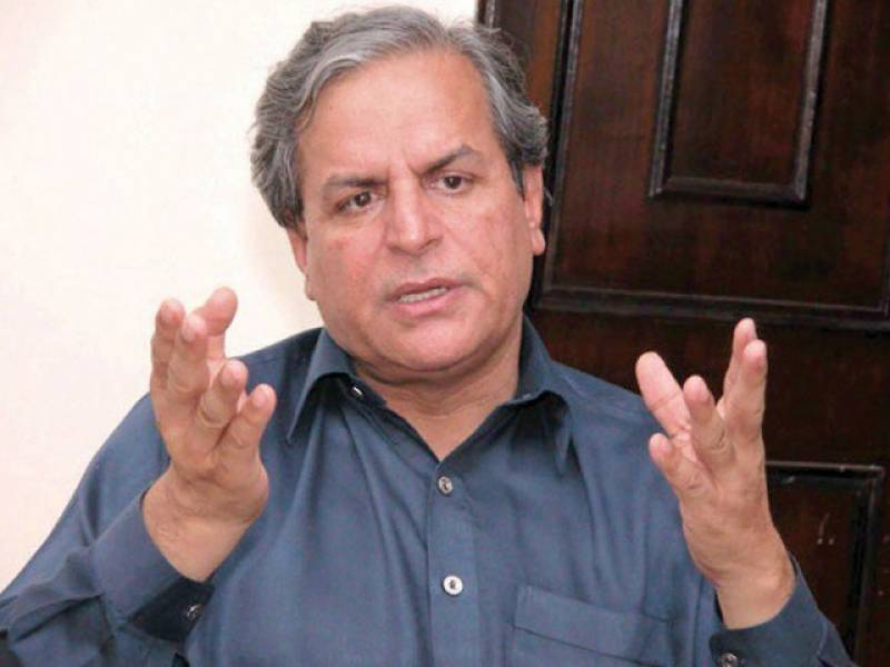 "Hashmi demands judicial commission to expose ""Script Writer"" of PTI's 2014 Sit-In"