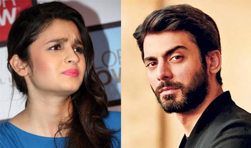 Fawad refused to 'kiss' me, reveals Alia Bhatt