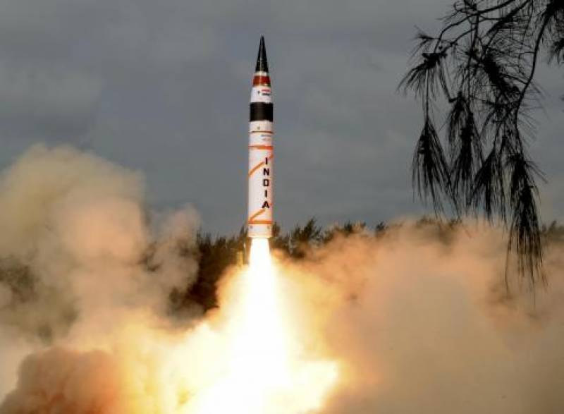 India successfully tests fire Agni-IV missile