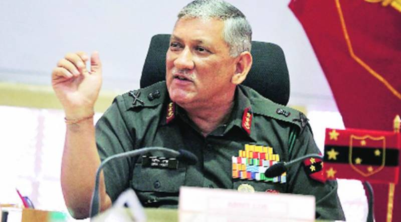 Indian army ready for two-front war with Pakistan, China simultaneously: army chief