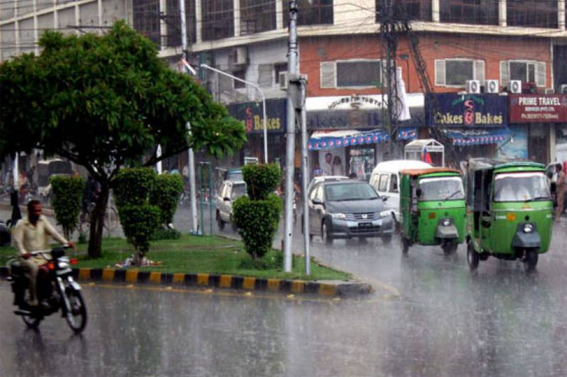 Isolated Light rain in various parts of Pakistan