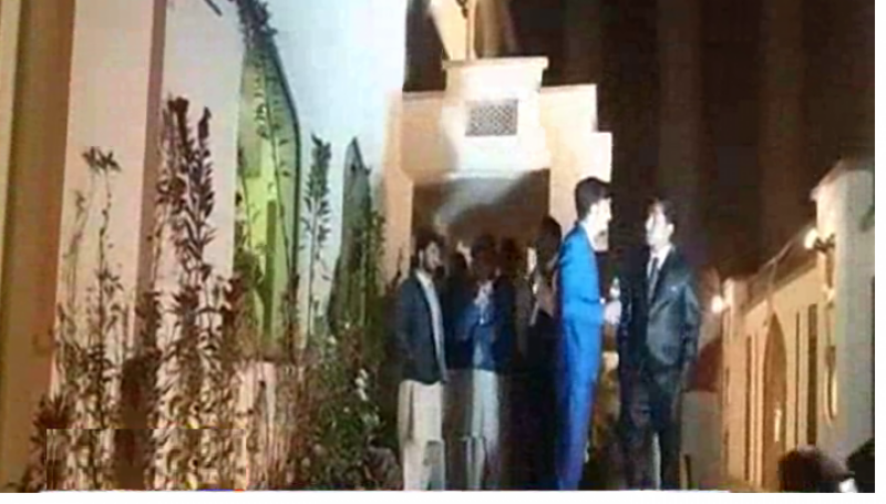 Marriage hall administration hostages Wedding guests