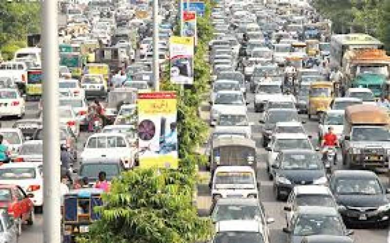 "Demonstrators of ""pro-blasphemy law"" create severe traffic jam across Lahore"