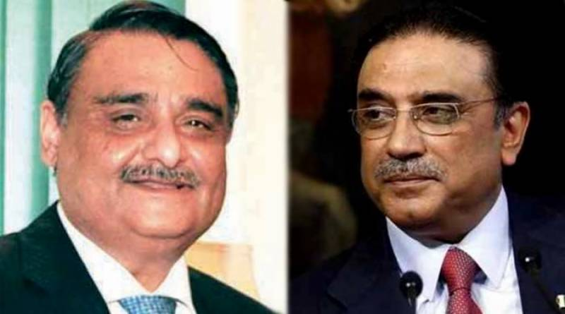 Former President pays visit to Dr Asim