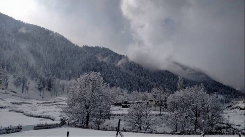 Northern parts of country receive snowfall