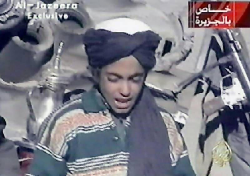 Osama Bin Laden's Son Hamza put on Terror black list by US intelligence
