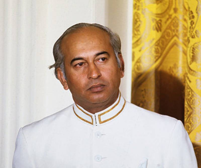 Zulfikar Ali Bhutto's 89th birth anniversary today