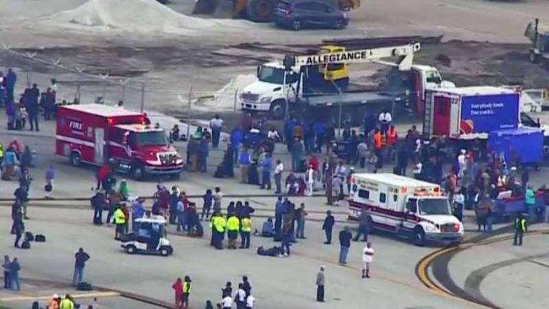 Florida: Five killed, eight wounded in mass shooting at Ft. Lauderdale airport