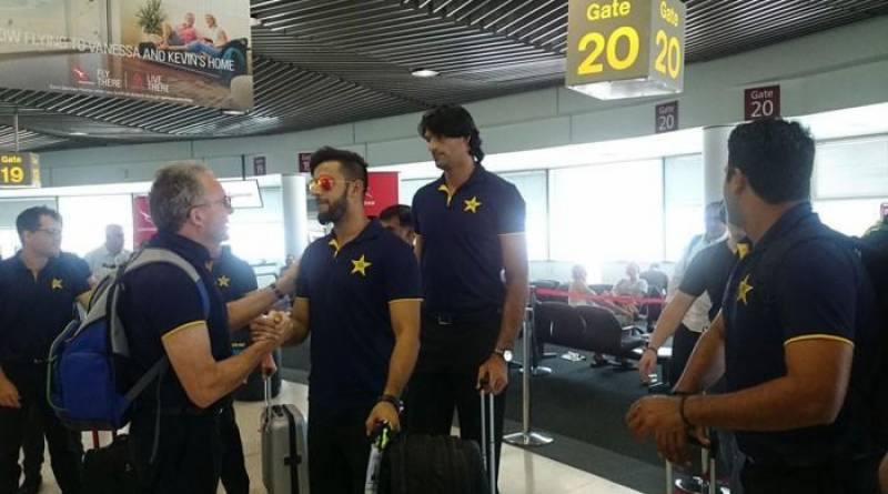 Five-match ODI series: Pakistan team arrives at Brisbane