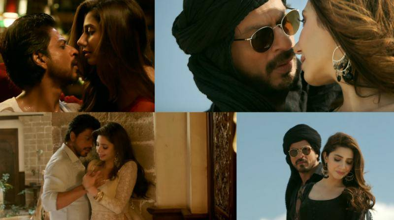 Mahira, SRK's Zaalima breaks internet with over 20m views