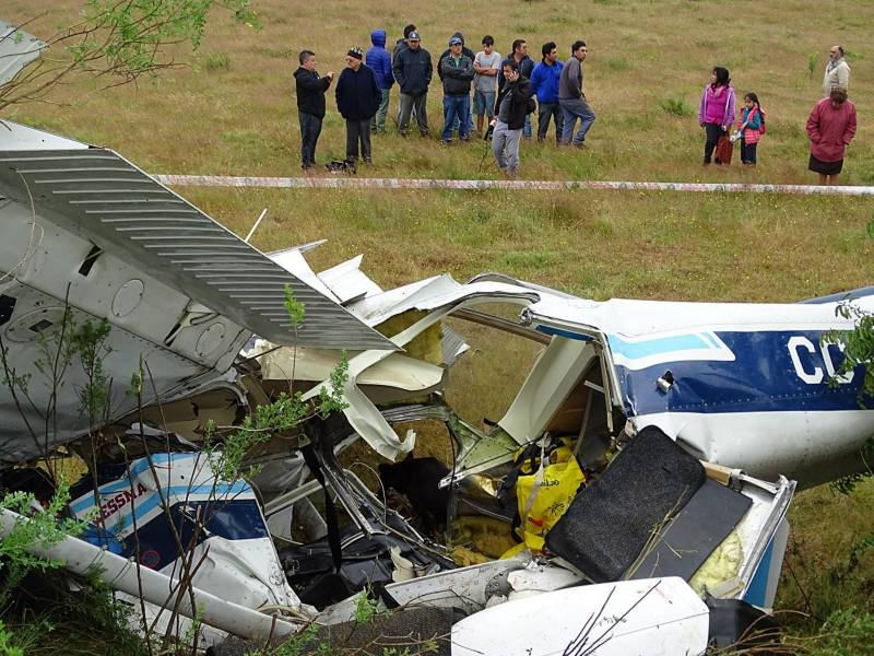 4 killed in Chile plane crash