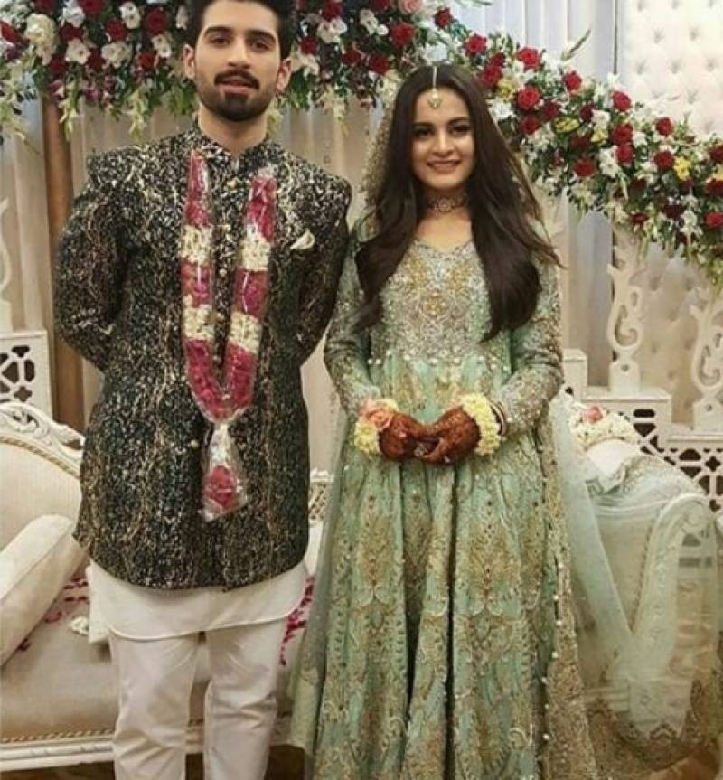 Aiman Khan Amp Muneeb Butt S Engagement Ceremony Pics