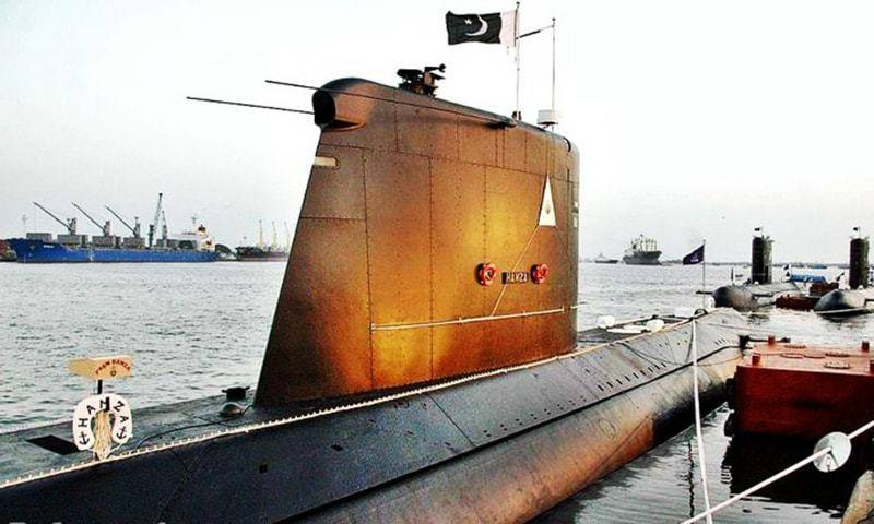 "Pakistan successfully test fires its first ""submarine launched nuclear equipped missile"""
