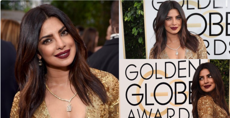 Priyanka Chopra got a glimpse of Golden Globe Awards